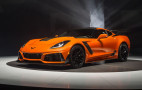 2019 Chevrolet Corvette ZR1 bows with 755-HP LT5 V-8