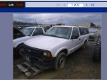 Chevrolet S-10 Electric Pickup Truck On Government Liquidation Site