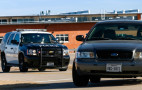 Ride along with the police on a high-speed car chase