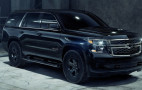 2018 Chevrolet Tahoe Custom Midnight is blacked out on a budget