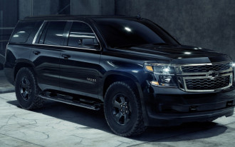 2018 Chevrolet Tahoe Custom Midnight Edition: just say no to chrome