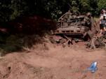 2003 Chevrolet Trailblazer found buried