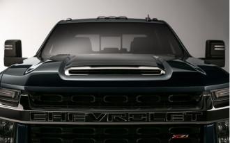 Tall order pickup truck: 2020 Chevrolet Silverado HD teased