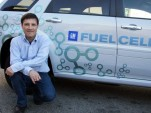 Chevrolet Equinox fuel-cell vehicle and David Shelton