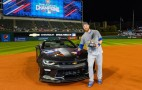World Series MVP Ben Zobrist gets keys to a new Chevy Camaro SS