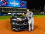 Chicago Cubs outfielder Ben Zobrist wins Camaro SS for earning MVP nod