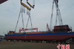 All-electric Chinese cargo ship will be used to haul coal