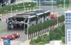 China's 'Land Airbus' will let you drive directly under a bus
