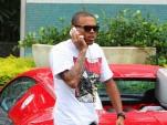 Chris Brown With A Bugatti Veyron