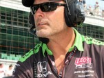 Chris Griffis at the Indianapolis 500. Photo courtesy Sam Schmidt Motorsports