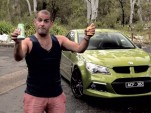 Chris Harris and the 2014 HSV GTS Maloo ute