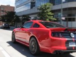 Chris Harris drives the Shelby GT500 in Manhattan