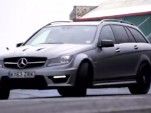Chris Harris driving the 2014 Mercedes-Benz C63 AMG Edition 507