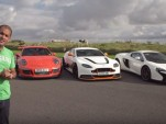 Chris Harris tests the Aston Martin Vantage GT12, Porsche 911 GT3 RS and McLaren 650S