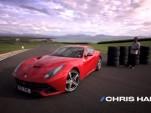 Chris Harris tests the Ferrari F12 Berlinetta