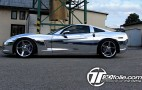 Czech Tuner Wraps Corvette In Chrome: Not Quite Awful