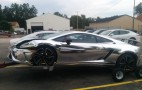 Chrome Lamborghini Crashes Into Jeep Wrangler In Michigan: Gallery (Updated)
