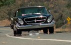 Jay Leno checks out the gentleman's sports car: the Chrysler 300G