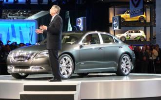 2009 Detroit Show: Chrysler 200C Concept