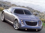 Chrysler Crossfire concept car front