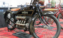 Classic Henderson motorcycle featured at Mecum's Las Vegas motorcycle auction in 2017 | Bob Golfen p