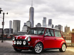 Classic Mini with electric powertrain