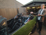Colin Furze turned a BMW 325i into a hot tub