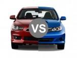 Comparing the Mitsubishi Lancer Ralliart to the Subaru WRX