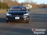 Consumer Reports tests the Tesla Model S (video screen capture)