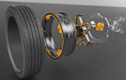 Continental reveals aluminum wheel and brake concept for electric cars