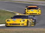 Corvette C6.R racecars at 2011 Petit Le Mans - Anne Proffit photo