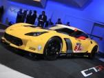 Corvette C7.R race car live photos, 2014 Detroit Auto Show