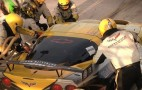 Corvette Racing Shows Its Pit Lane Performance: Video