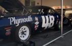 Jay Leno Checks Out Craig Jackson's Plymouth Barracuda Trans-Am Racer: Video