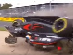 Crash during 2016 Formula One World Championship