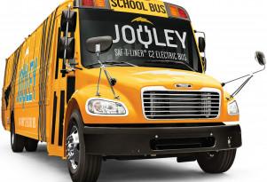 Daimler-Thomas electric Jouley school bus