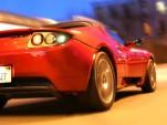 Damon Hill to race Tesla Roadster in London