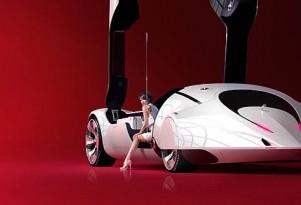 Daniel Simon concept for Cosmic Motors