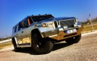 Golden Dartz Prombron SUVs From 'The Dictator' Up For Sale