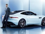 David Beckham and the Jaguar F-Type Coupe
