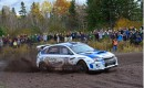 David Higgins and Subari clinch third consecutive Rally America championship.