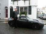 David Peilow Drives Tesla Roadster on Long-Distance Challenge