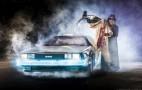 DeLorean Time Machine Replica Captured In Photographic Glory