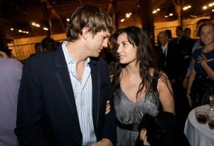 Demi Moore and Ashton Kutcher at TechCrunch50 2008