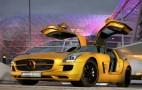Desert Gold 2010 Mercedes-Benz SLS AMG To Star In Dubai