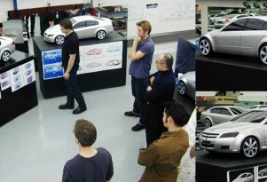 Design team at Holden