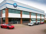 Detroit Electric headquarters in Leamington Spa, United Kingdom