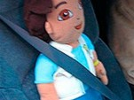 Diego doll doesn't qualify for carpool status. Photo by AP.