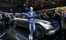 Dieter Zetsche during Mercedes-Benz Generation EQ concept launch at the 2016 Paris auto show