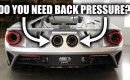 Do vehicle exhaust systems need back pressure?